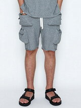 BOX POCKET SHORTS_PILE