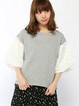 ソデキジシシュウワッフルTシャツ