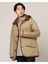 BEAMS MEN Traditional Weatherwear × BEAMS / 別注 WAVERLY フーディー ビームス メン コート/ジャケット コート/ジャケットその他 ベージュ【送料無料】