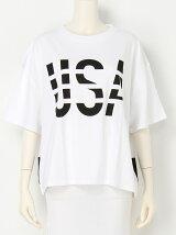USA LOGO Tシャツ