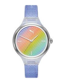 PUMA PUMA/(W)CONTOUR_P1025 ウォッチステーションインターナショナル ファッショングッズ 腕時計 ブルー【送料無料】