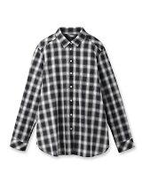 [L]2WAYシャドーチェックシャツ