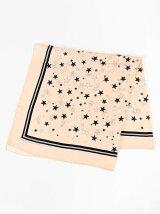 星柄プリントスカーフ