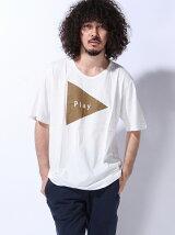 (M)ZIP FIVE プリント半袖Tシャツ