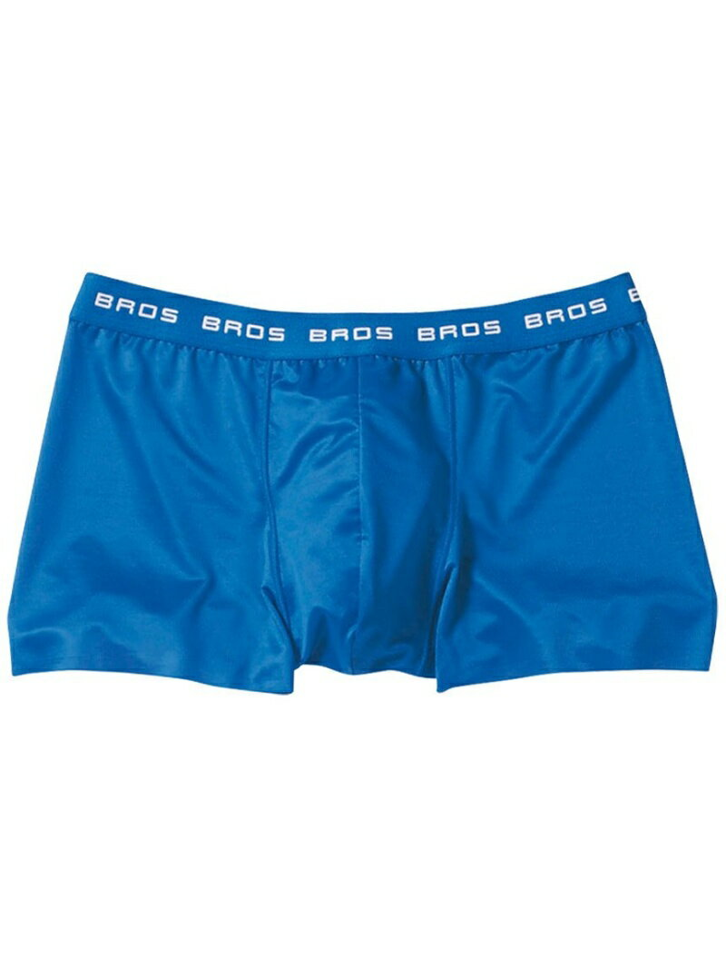 BROS BROS ボクサーパンツ (前閉じ フロント快適設計 裾ヘム) ブロス インナー/ナイトウェア