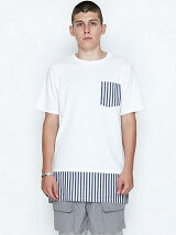 LAYERE POCKET  T-SHIRTS_STRIPE