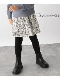 GLOBAL WORK (K)インナーツキカラフルSK/ガラ グローバルワーク スカート キッズスカート ホワイト ブラウン ブラック
