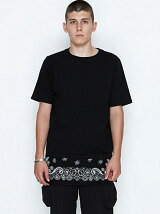 LAYERE POCKET  T-SHIRTS_BANDANA