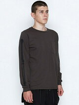 LONG POCKET T-SHIRTS_BONE