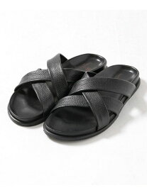 【SALE/20%OFF】The Sandals Factory 別注3ベルトレザーサンダル ナノユニバース シューズ【RBA_S】【RBA_E】【送料無料】