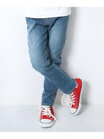 【SALE/10%OFF】devirock ストレートデニムパンツ 男の子 女の子 ベビー ボトムス ズボン デビロックストア 子供服 キッズ デビロック パンツ/ジーンズ ストレートジーンズ ブルー ネイビー