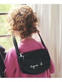 agnes b. ENFANT ENFANT/(K)GL11 E BAG ロゴポシェット アニエスベー バッグ キッズバッグ ブラック【送料無料】
