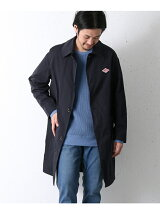 DANTON POCKET DOUBLE CLOTH COAT