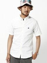 BEAMS / ストレッチオックス ボタンダウンシャツ