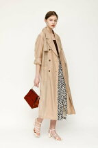 SHEER TRENCH コート