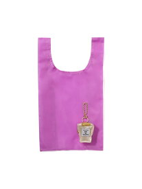 Francfranc バッグチャームエコバッグ パフューム フランフラン バッグ エコバッグ/サブバッグ ピンク