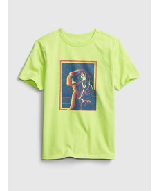 【SALE/25%OFF】GAP (K)オーガニックグラフィックtシャツ (キッズ) ギャップ カットソー キッズカットソー イエロー ブルー ネイビー オレンジ グリーン ホワイト カーキ