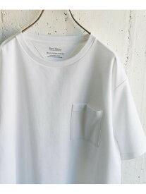 DOORS ポンチポケットTシャツ アーバンリサーチドアーズ カットソー Tシャツ ホワイト ブラウン グリーン ブルー ブラック【送料無料】