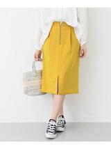 カラータイトスカート