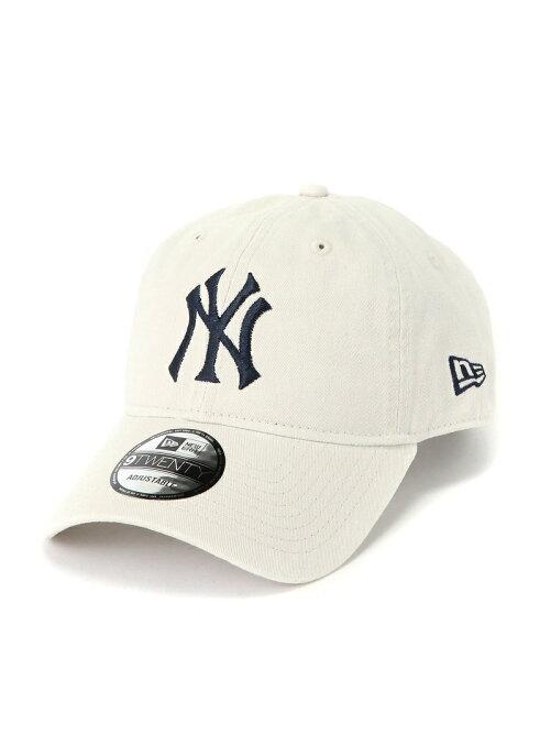 9TWENTY LEATHER STRAPBACK CAP MLB CT