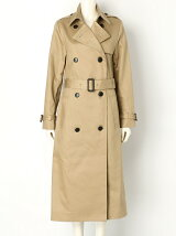 BACK VOLUME TUCK TRENCH COAT