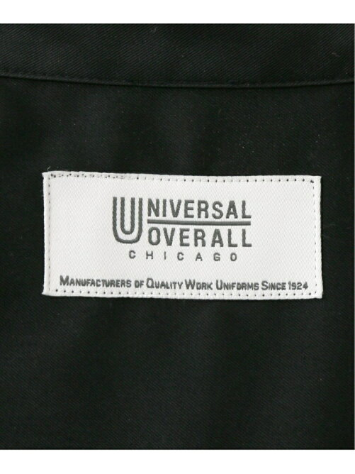【UNIVERSAL OVERALL】 417別注 シェフシャツ【セットアップ着用可能】