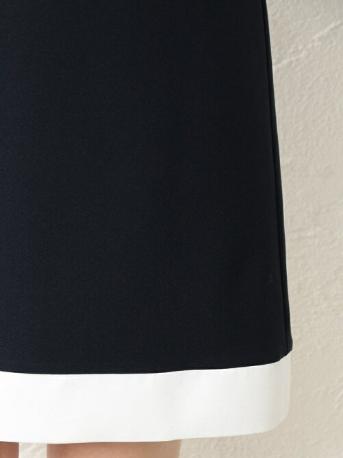 97c04b8519338 GUILD PRIME  LOVELESS WOMEN マリンスカーフノースリーブドレス ...