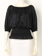 SMOCKING SQUARE N/C TOPS