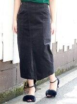 コーデュロイビッグポケットタイトスカート
