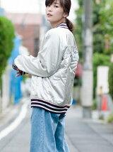 ボンバージャケット-Gray Dawn
