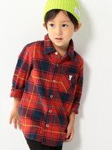 【coen キッズ / ジュニア】タータンネルチェックシャツ(100〜150cm)