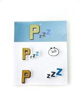 Pzzz/(U)ピンバッジ
