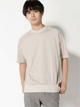 marka/(M)CREWNECK SS combed cotton knit