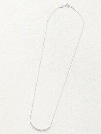 agete PT950プラチナダイヤモンドネックレス アガット アクセサリー ネックレス ホワイト【送料無料】