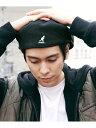 KANGOL KANGOL/(U)Wool 504 カンゴール ハットホームズ 帽子/ヘア小物 帽子その他 ブラック パープル ブラウン【送料…
