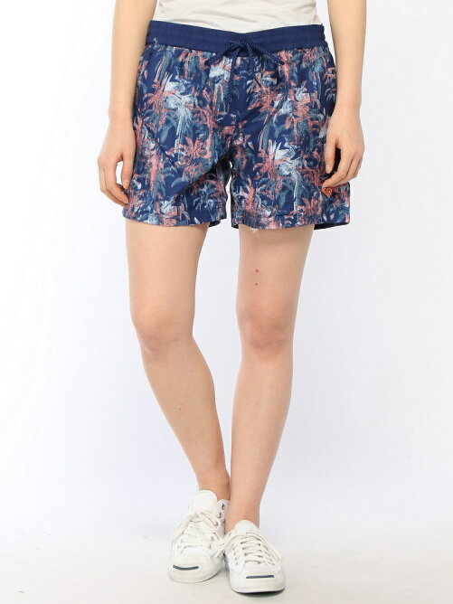 WASHED PALMS SHORTS