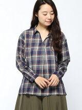 Lugnoncure/チェックスキッパーシャツ