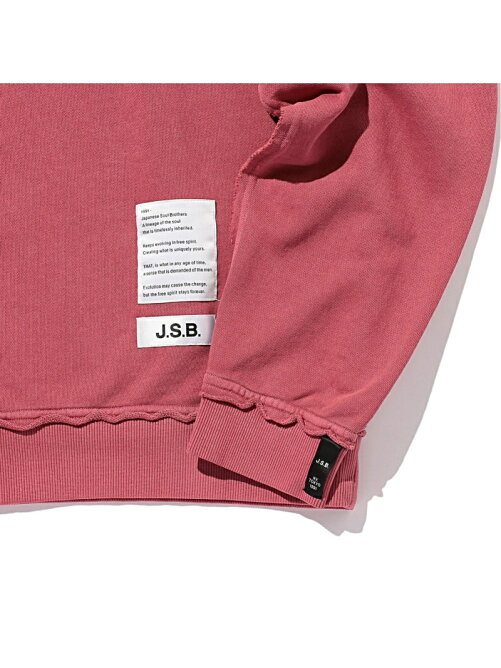 J.S.B./(M)Cut Off Logo Sweat
