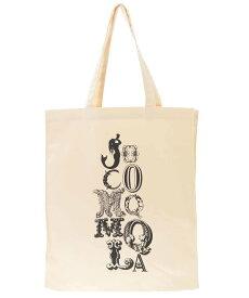 Jocomomola マーメイドロゴ デザイントートバッグ ホコモモラ バッグ トートバッグ ベージュ