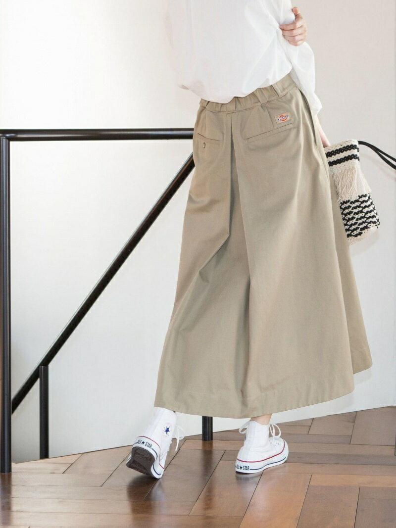 coen 【新色追加・別注】Dickies(ディッキーズ)フレアロングスカート コーエン スカート【送料無料】