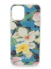 KENZO (U)KXV20 iPhone 11P Yellow Floral(iPhone 11 Pro) ケンゾー ファッショングッズ 携帯ケース/アクセサリー ブルー【送料無料】