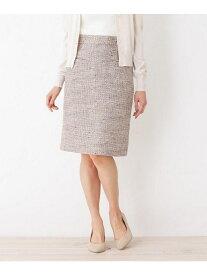 【SALE/60%OFF】index 【洗える】サマーツィードタイトスカート インデックス スカート スカートその他 ベージュ ピンク ネイビー