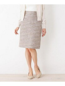 【SALE/60%OFF】【洗える】サマーツィードタイトスカート インデックス スカート【RBA_S】【RBA_E】