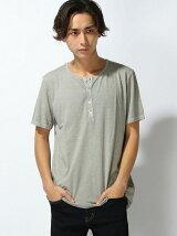 (M)ラウンドヘンリー半袖TシャツUB