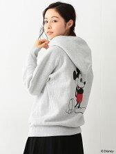 Champion / 別注 バック ミッキーマウス パーカ Disney(ディズニー)チャンピオン BEAMS BOY ビームスボーイ