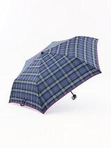 オリジナルチェック柄 折りたたみ傘