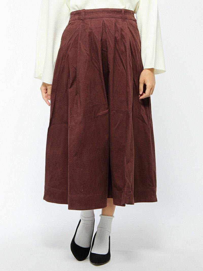 【SALE/37%OFF】(W)コーデュロイロングスカート グローバルワーク スカート【RBA_S】【RBA_E】