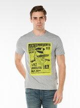 グラフィック セットイン ネック Tシャツ