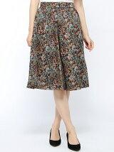 Techichi/リバティ草花柄スカート