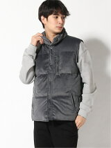 AZOE/(U)VELVET LIGHT DOWN VEST